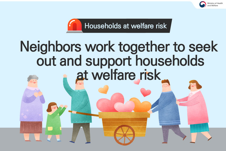 Households at welfare risk Neighbors work together to seek out and support households at welfare risk  (1/5)